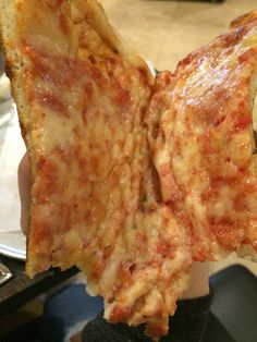 New York Pizza, don't see any oil dripping here do you?