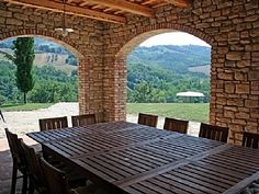 Beautiful Italian Outdoor dining