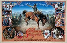 Calgary Stampede Poster  2005