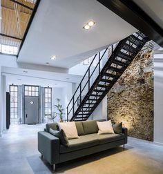 41 vind-ik-leuks, 5 reacties - Esha Kalberg (@loesoplocatie) op Instagram: 'Loft Den Bosch #newonline #1359 #brickwall #industrial #loft #interior #concrete #living #design…'