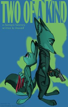 Commission - Two Of A Kind Cover by RobertFiddler.deviantart.com on @DeviantArt #commission #coverart #fanfiction #zootopia I got a little commission by AnsemD to make a cover for his fanfiction he is working on. Hope he and you guys like it too! I personally had no time to read it yet, but if this cover image created based on his instructions pique your interest, you can check it out HERE Two of a kind © AnsemD Zootopia © Disney Art © Me
