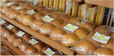 All types of Breads (Tennis Rolls, Plait Loaves, Aniseed Loaf, Whole Wheat etc.) made by Alima's Roti and Pastry. 13 Kenview Blvd, Brampton ONT Canada. 905 791 7684
