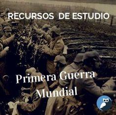 Recursos y Material Didáctico para Explicar la Primera Guerra Mundial en el Aula