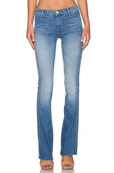 Shop for MOTHER The Patch Slacker in Afternoon Delight at REVOLVE. Blue Jeans, Denim Jeans, Afternoon Delight, Mother Denim, Flare Leg Jeans, Revolve Clothing, Designing Women, Bell Bottom Jeans, My Style