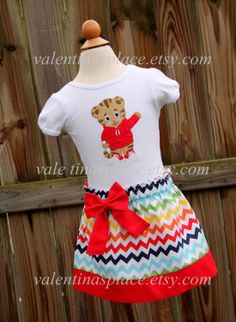 Beautiful and Unique Daniel Tiger's by Valentinasplace on Etsy, $52.00