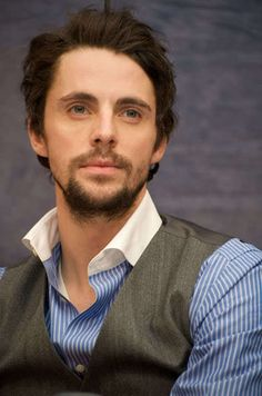 Most popular tags for this image include: matthew goode, declan, beard, blue eyes and handsome