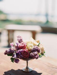 #rose, #lilacs  Photography: Carmen Santorelli Photography - carmensantorellistudio.com  Read More: http://www.stylemepretty.com/2014/07/28/elegant-beachside-wedding-in-la-jolla-california/