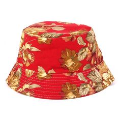 Fashion New Print Floral Womens Bucket Hats Ladies Summer Beach Hat Fishing Hats For women
