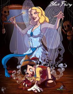 Seleção de imagens mostram as Princesas da Disney em seu lado mais perverso