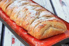 שטרודל טבעוני לעצלנים Vegan Rosh Hashana, Vegan Cake, Banana Bread, Baking, Desserts, Cakes, Food, Tailgate Desserts, Deserts