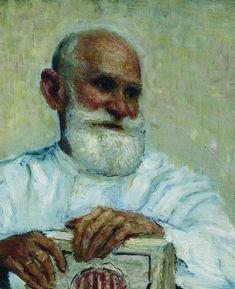 Ilya Repin -Portrait of the physiologist Ivan Petrovich Pavlov  : 1924