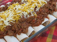 Smothered Beans and Rice Burritos