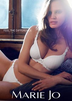 Marie Jo Avero | White - $150.00 nightowllingerie.com