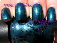 Scrangie: OPI Swiss Collection Fall 2010 Swatches | Cuckoo For This Color