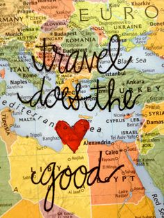 Viajar faz o bem!
