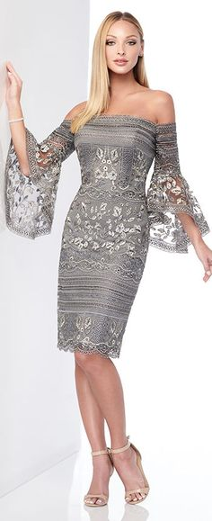 Mother of the Bride Dresses 2019 by Mon Cheri, Mom of the Bride Clothes 2019 by Mon Cheri 218801 by Mon Cheri 218801 by Mon Cheri. Mob Dresses, Sexy Dresses, Beautiful Dresses, Fashion Dresses, Formal Dresses, Wedding Dresses, Wedding Guest Outfit Formal, Groom Dress, Camo Dress