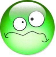 Feeling a little green Smiley.
