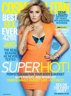 Demi Lovato Is Our August Cover Girl!