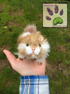 handmade poseable animal recycled artist touchedbylavender Touched by Lavender artist artician craft crafts stuffed animal plush plushie hamster gerbil  Deviant art: http://touchedbylavender.deviantart.com/ Facebook: https://www.facebook.com/touchedbylavender?ref=hl