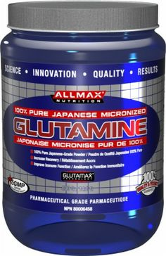 AllMax Nutrition Micronized Glutamine - The best stuff on the market for muscle recovery - faster by about 1.5 days (of the 3 day DOMS cycle).  The manufacturing methods of amino acids are categorized as: 1) extraction from hydrolysates of animal or plant protein, 2) chemical synthesis, 3) fermentation, and 4) enzymic.  Allmax is derived from natural fermentation of vegetables, so it's vegan approved!