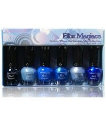 Kleancolor Blue Maniacs - World of Blues Nail Lacquer Mini Collection