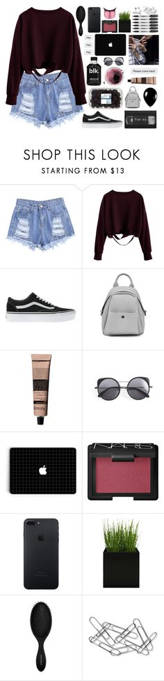 """t i n t o"" by sofhiree20 ❤ liked on Polyvore featuring Vans, Alexander McQueen, Concord, Aesop, Wood Wood, NARS Cosmetics, Sharpie, Sephora Collection and Home Decorators Collection"
