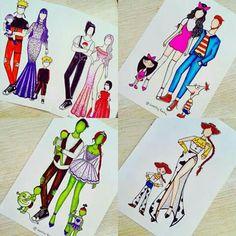 Cute Disney Drawings, Pretty Drawings, Kawaii Drawings, Amazing Drawings, Fashion Design Drawings, Fashion Sketches, Fashion Illustrations, App Drawings, Drawing Sketches