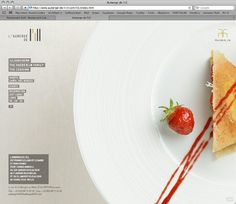 #Minimalistic #webdesign for restaurant  83oranges.com