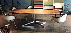 Florence Knoll Boat Table.