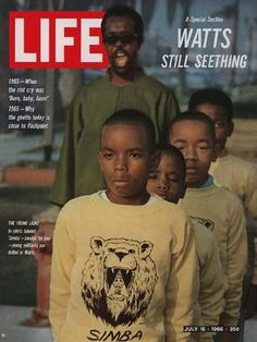 Life after Watts, 1966