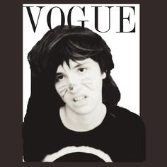 """Dan Howell on VOGUE"" T-Shirts & Hoodies by ellieellieo 