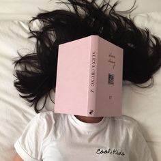 book, pink, and cool image