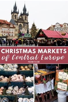 Visit these Christmas markets when you're in Central Europe during the holiday season! #christmastime #europe
