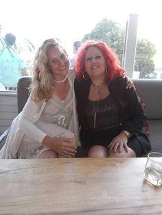 Con la escritora Estefania Nussio en Tarifa. Entrevista.