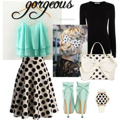 A fashion look from February 2016 by selennalove featuring Oasis, Chicwish, Betsey Johnson, Juicy Couture, women's clothing, women, female, woman, misses and ju...