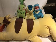 Got my four (3.5?) favourite starters from the Kyoto Pokemon Center!