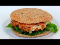 Video: Clean Eating Sweet and Smokey Turkey Burger | Clean & Delicious with Dani Spies