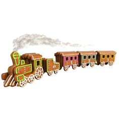 Delicia Metal Gingerbread Train Cookie Cutter Set http://www.ocado.com