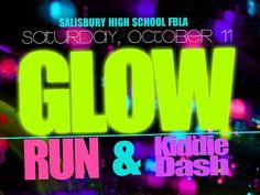 Salisbury R-IV Schools - FBLA to Host GLOW RUN Event Glow Run, Salisbury, Schools, High School, Running, Grammar School, Keep Running, School, High Schools