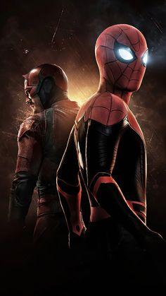 New Spiderman Movie, Spiderman Art, Amazing Spiderman, Disney Marvel, Marvel Art, Marvel Heroes, Marvel Comics, Quicksilver Comics, Daredevil Art