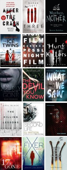 An Epic Guide to Thrillers - It's October, the month for creepiness and bumps in the night. But instead of going down the conventional route and offering up an Epic Guide to Horror, I'm going one better and giving you THRILLERS. This is one of my favourite genres, and while I feel like I haven't read many, this post has proven me wrong.