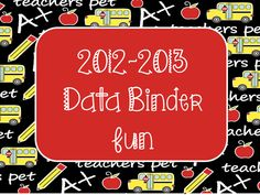 Busy Bees: Data Binder Celebration