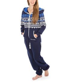 Look at this Night Blue Scandinavia Jumpsuit - Adult on #zulily today!