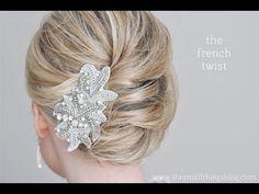 www.merakilane.com 10-easy-glamorous-updos-for-medium-length-hair