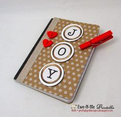 Mini Journals with our Typewriter Keys printable.