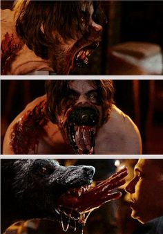 Hemlock Grove - this is seriously the best werewolf transformation I've ever seen!