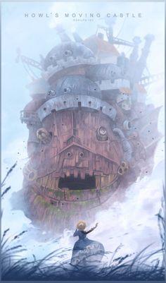 Howl's Moving Castle - Poster - Gokupo101