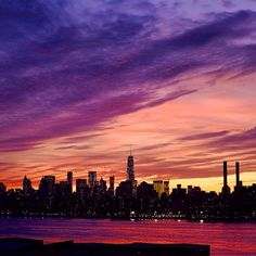 Sweeping NYC sunset. Photo courtesy of dustincohen on instagram.