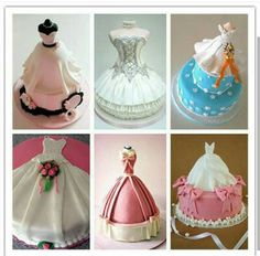Bridal Shower Wedding Dress Cakes Ideas For How To Choose Cake
