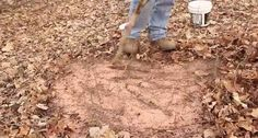 Create your own deer mineral site this spring and load up your trail cameras for an awesome show in the fall when it counts.